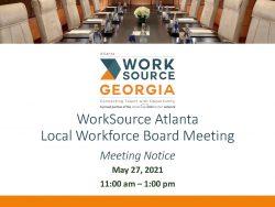 Public Notice - BOD Meeting 5.27.21